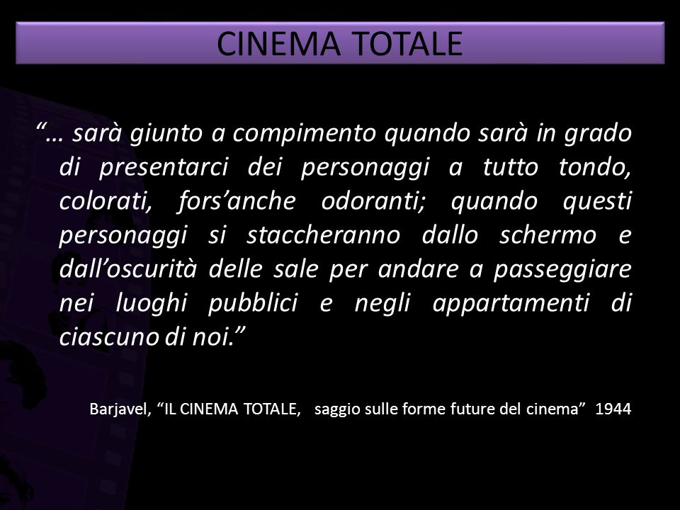 CINEMA TOTALE