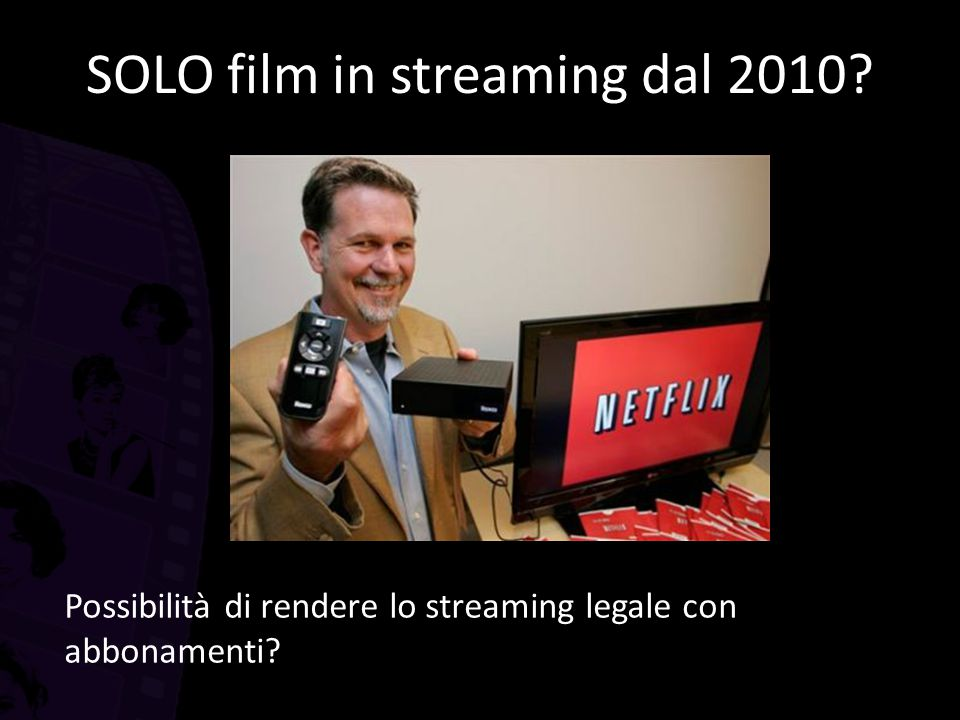SOLO film in streaming dal 2010