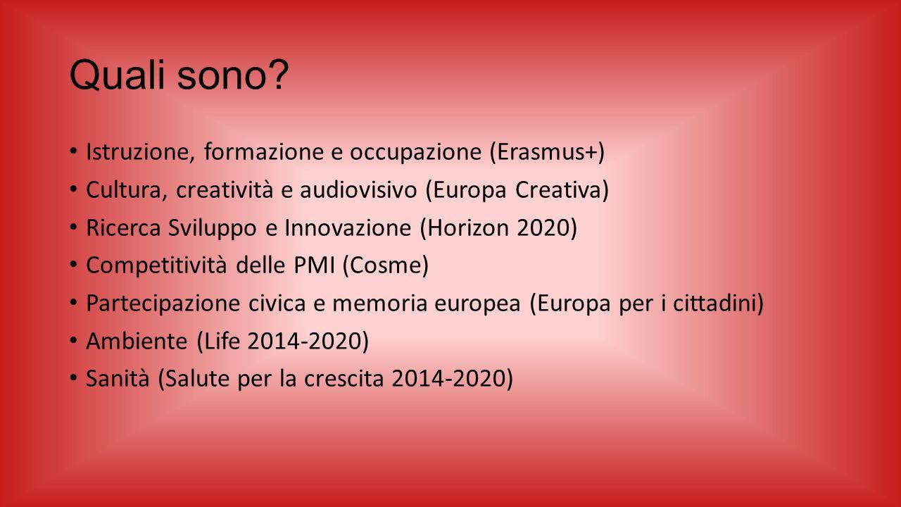 Quali sono Istruzione, formazione e occupazione (Erasmus+)