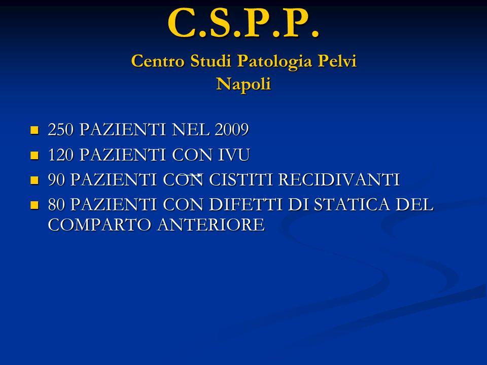 C.S.P.P. Centro Studi Patologia Pelvi Napoli