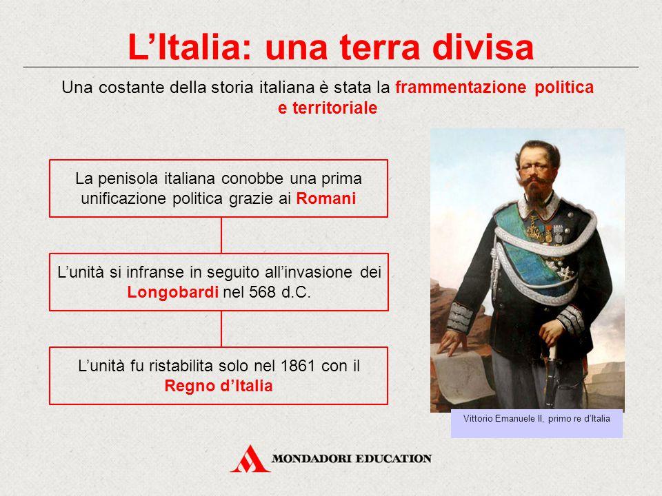L'Italia: una terra divisa