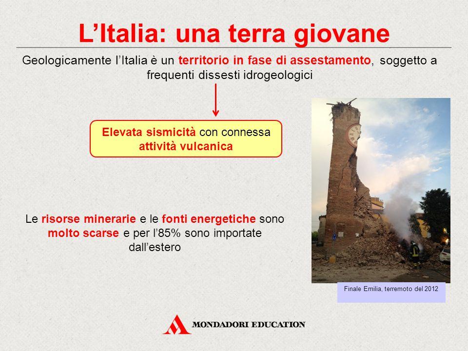L'Italia: una terra giovane
