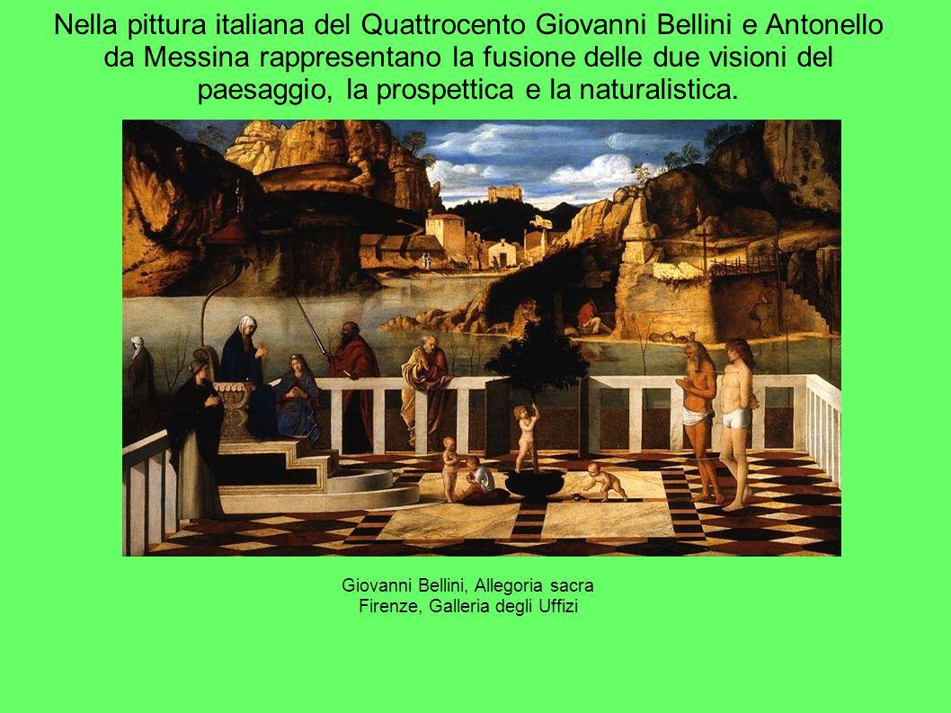 Giovanni Bellini, Allegoria sacra Firenze, Galleria degli Uffizi