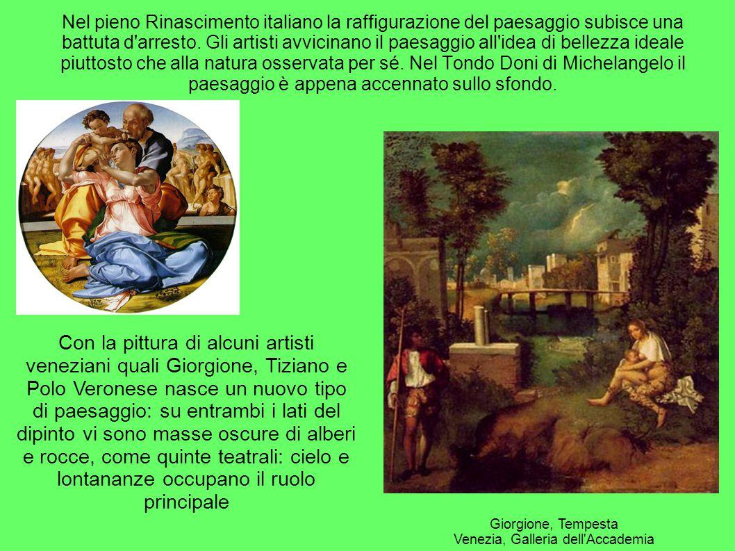 Giorgione, Tempesta Venezia, Galleria dell Accademia