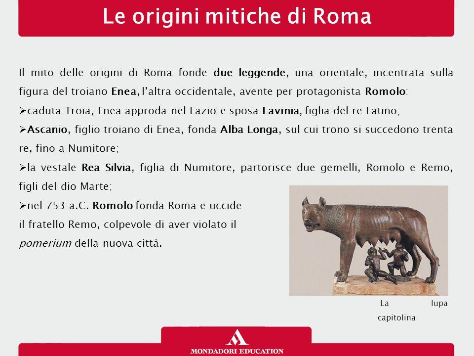 Le origini mitiche di Roma