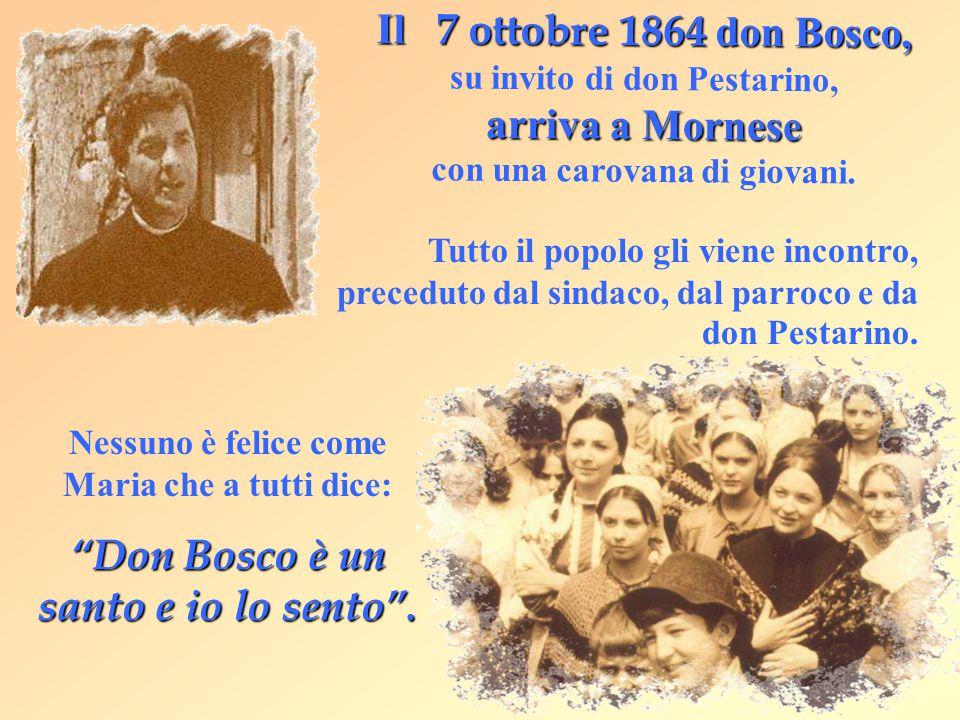 Don Bosco è un santo e io lo sento .