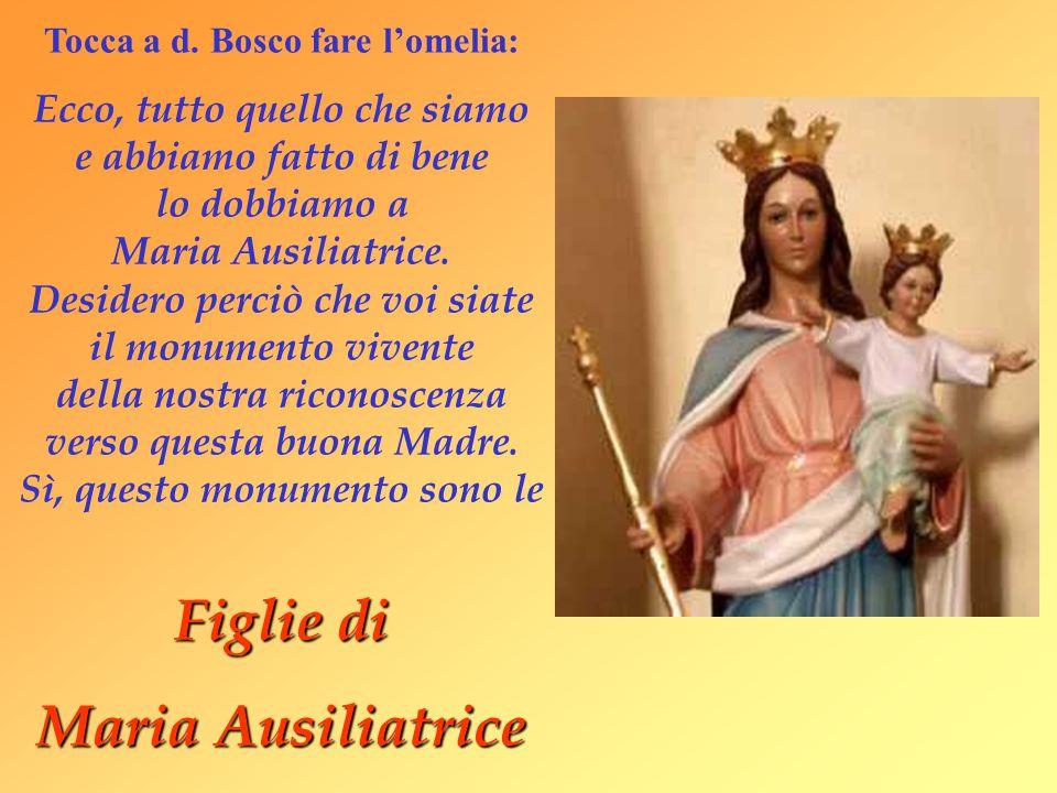 Tocca a d. Bosco fare l'omelia: