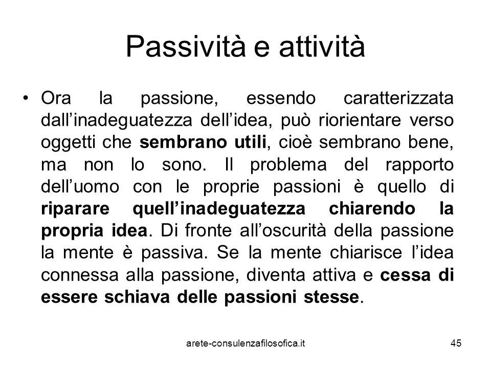 Passività e attività