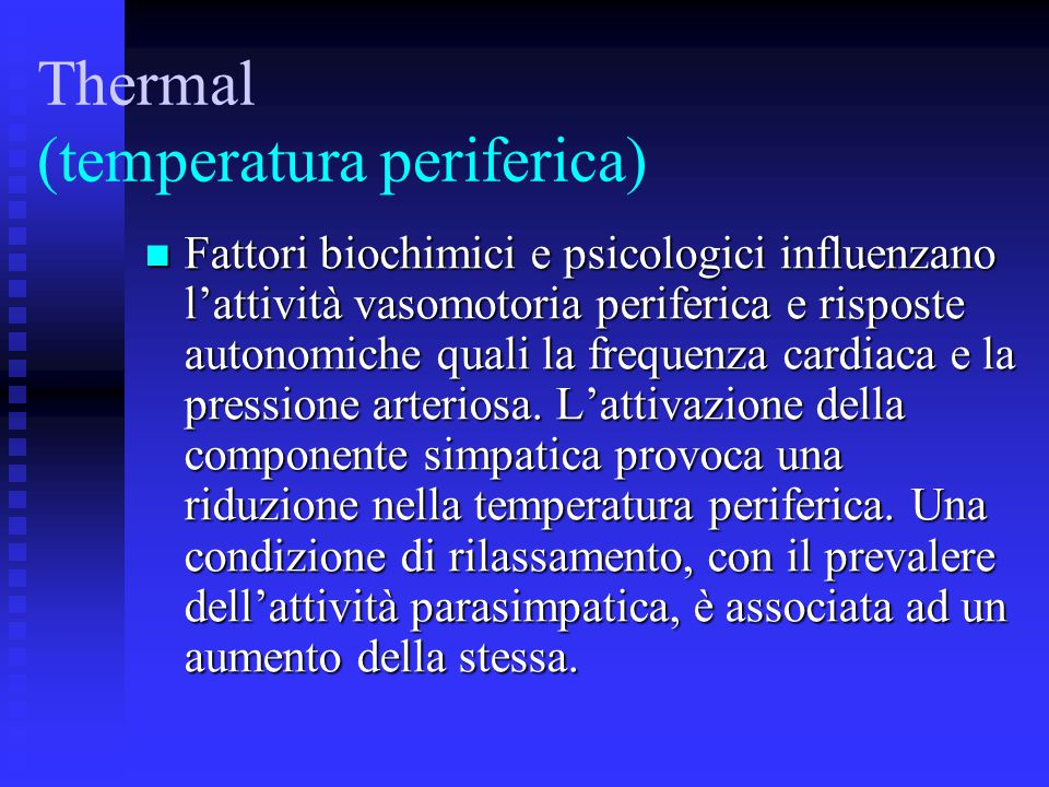 Thermal (temperatura periferica)‏