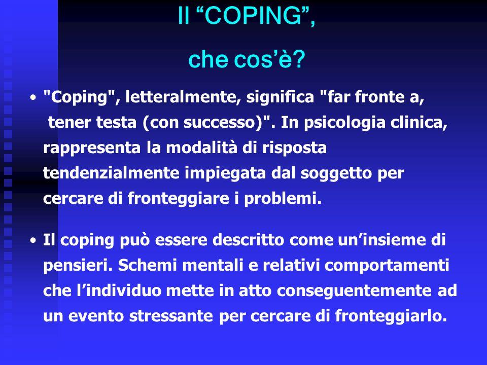Il COPING , che cos'è