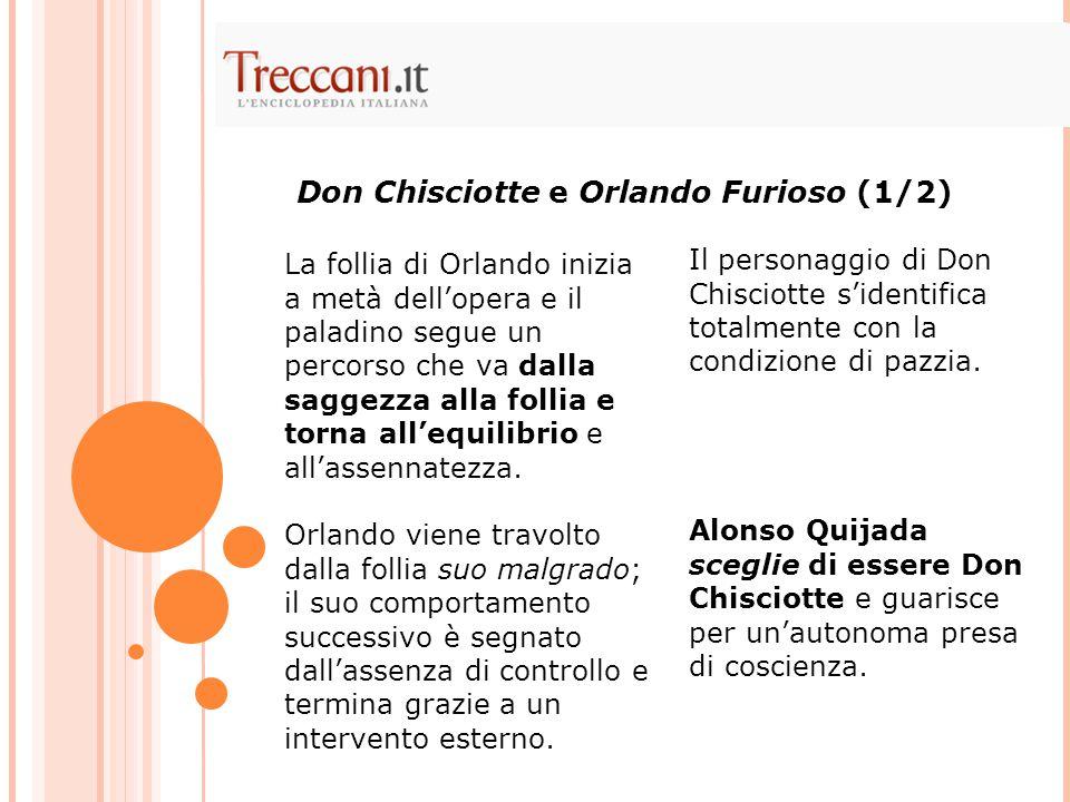 Don Chisciotte e Orlando Furioso (1/2)