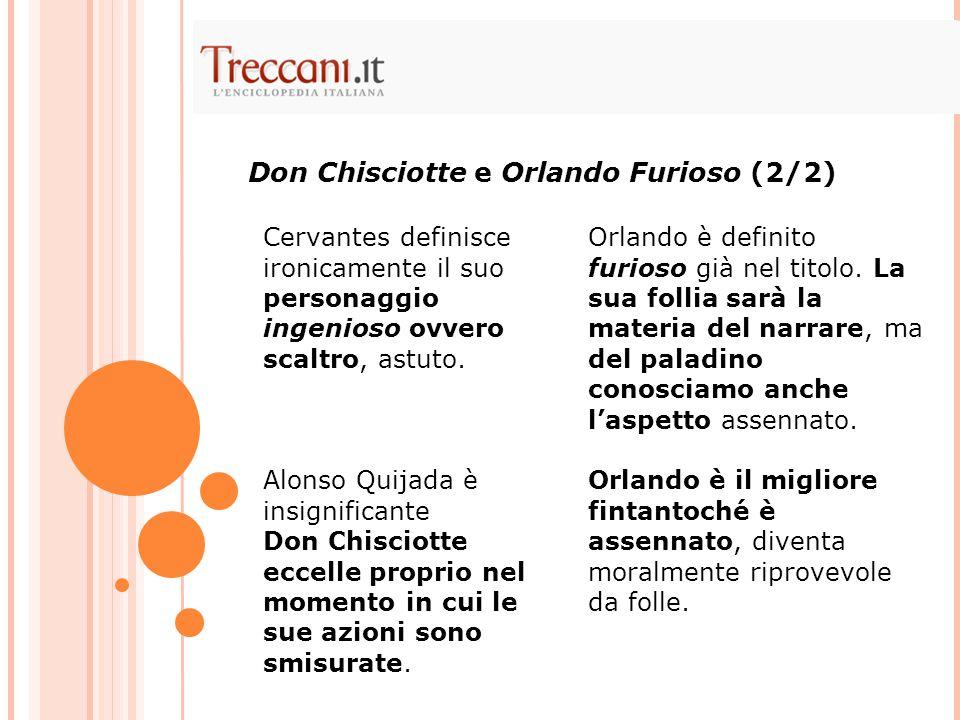 Don Chisciotte e Orlando Furioso (2/2)