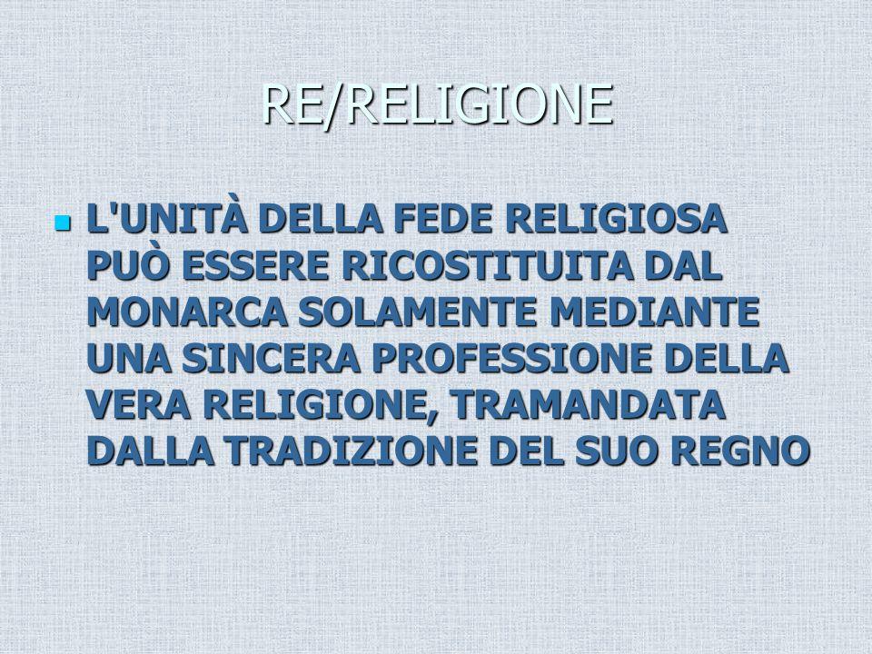 RE/RELIGIONE