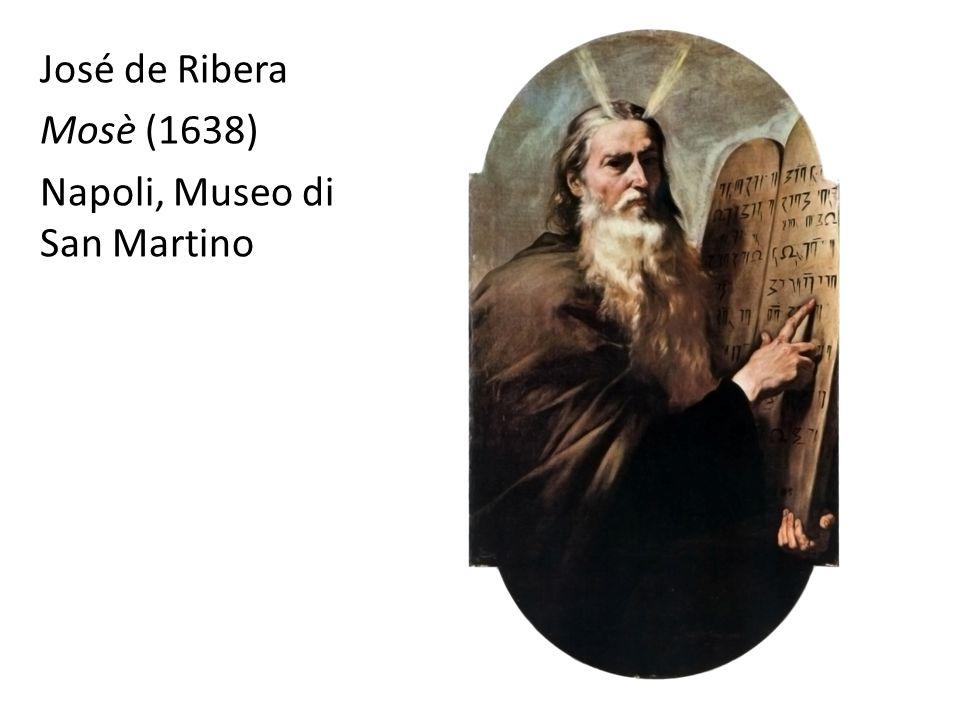 José de Ribera Mosè (1638) Napoli, Museo di San Martino