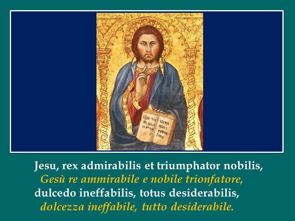 Jesu, rex admirabilis et triumphator nobilis,