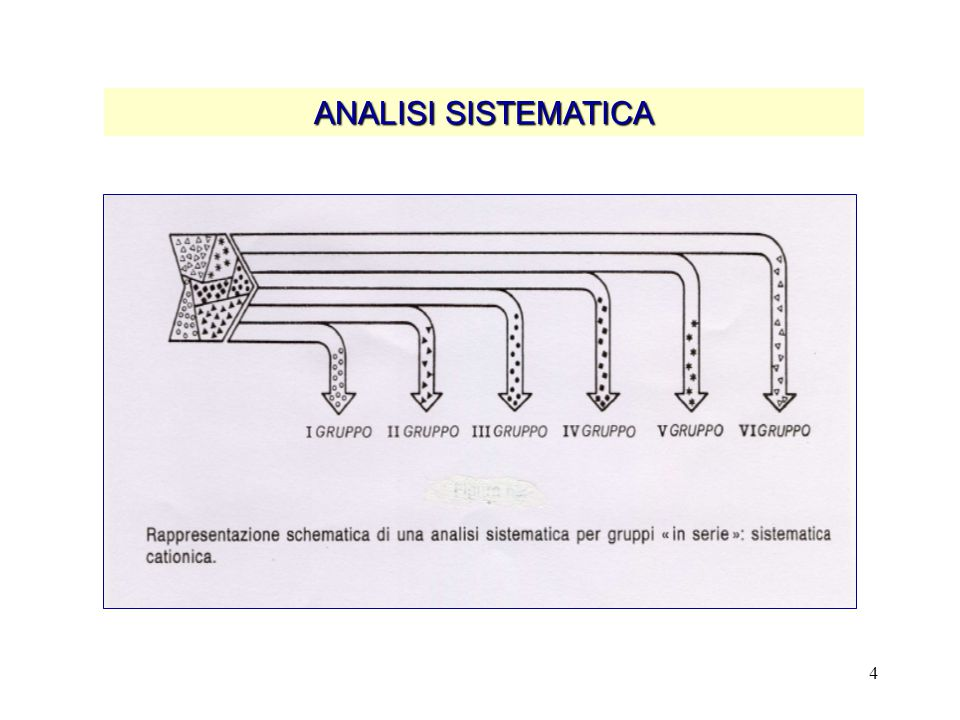ANALISI SISTEMATICA