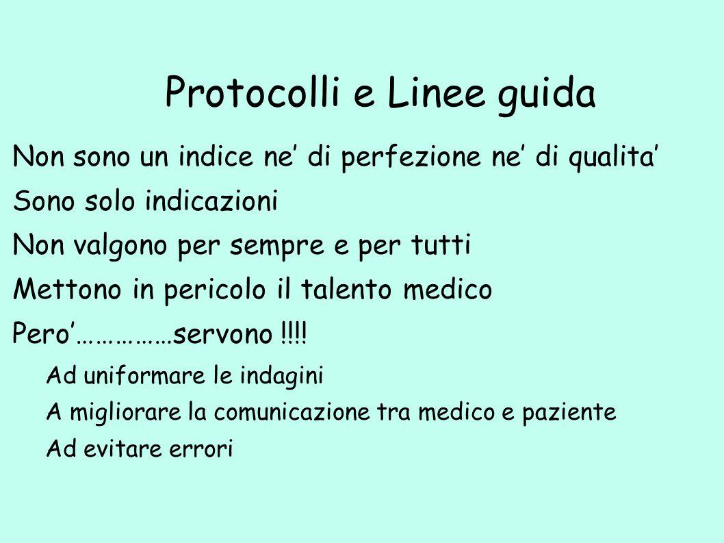 Protocolli e Linee guida