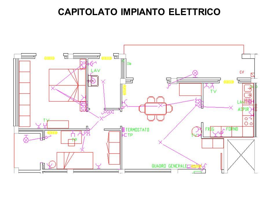 CAPITOLATO IMPIANTO ELETTRICO