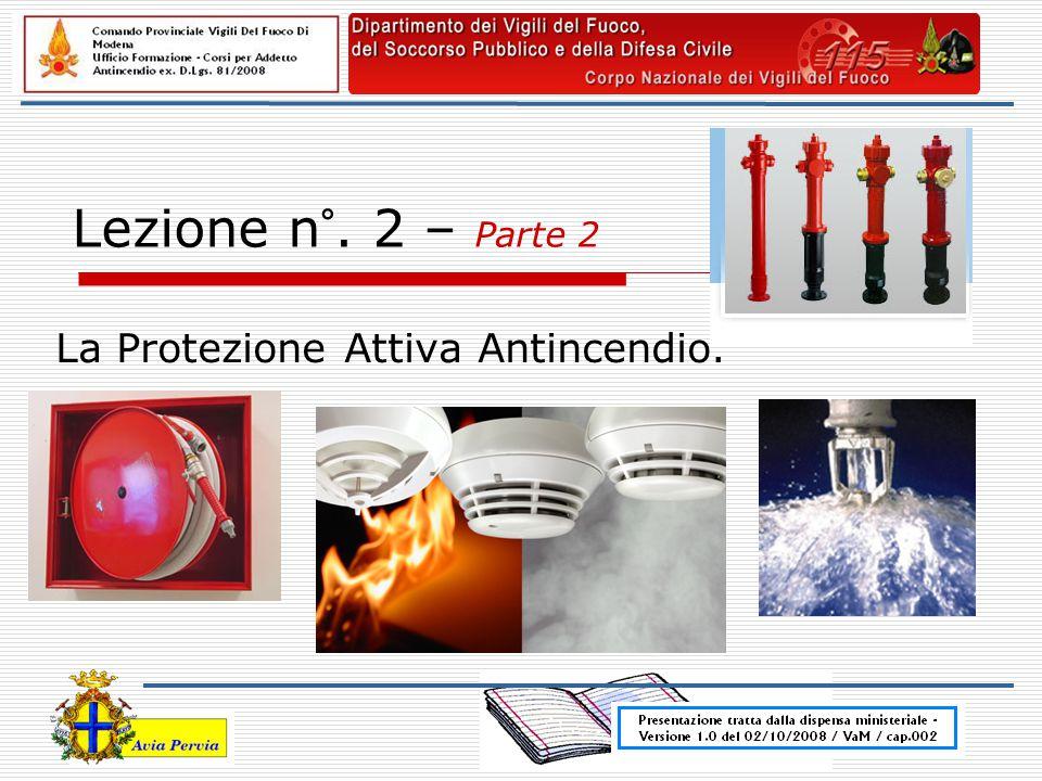 La Protezione Attiva Antincendio.