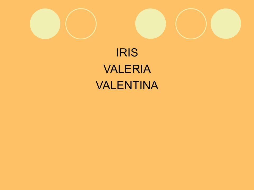 IRIS VALERIA VALENTINA