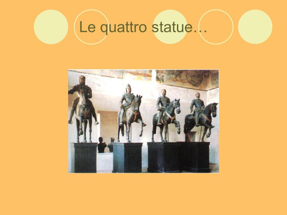 Le quattro statue…