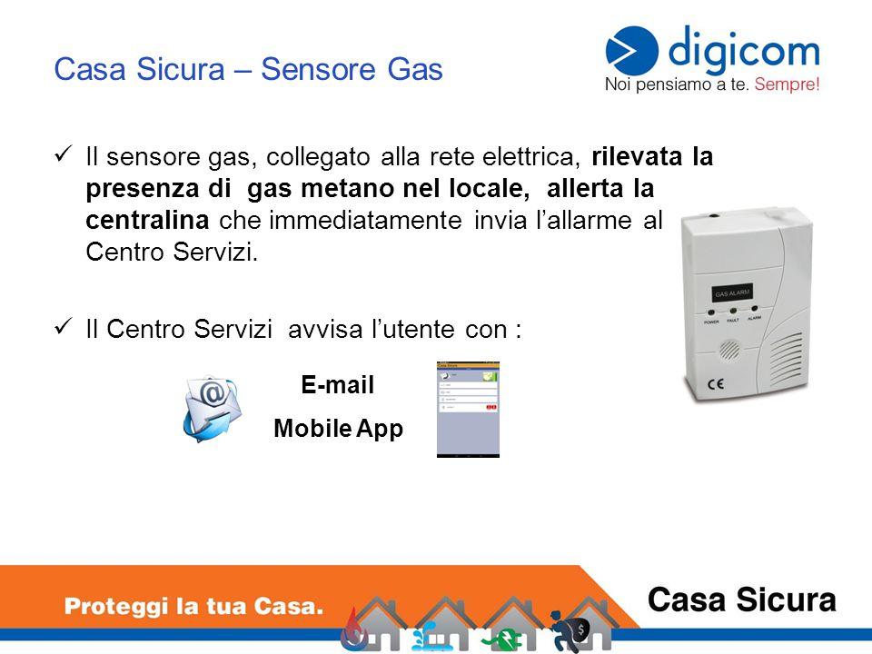 Casa Sicura – Sensore Gas