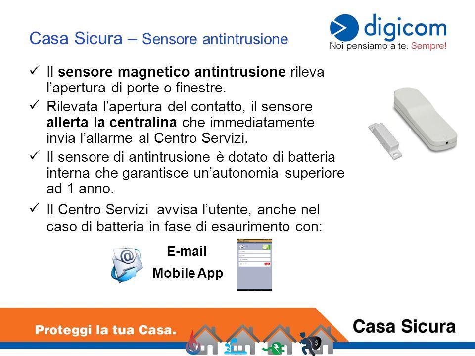 Casa Sicura – Sensore antintrusione