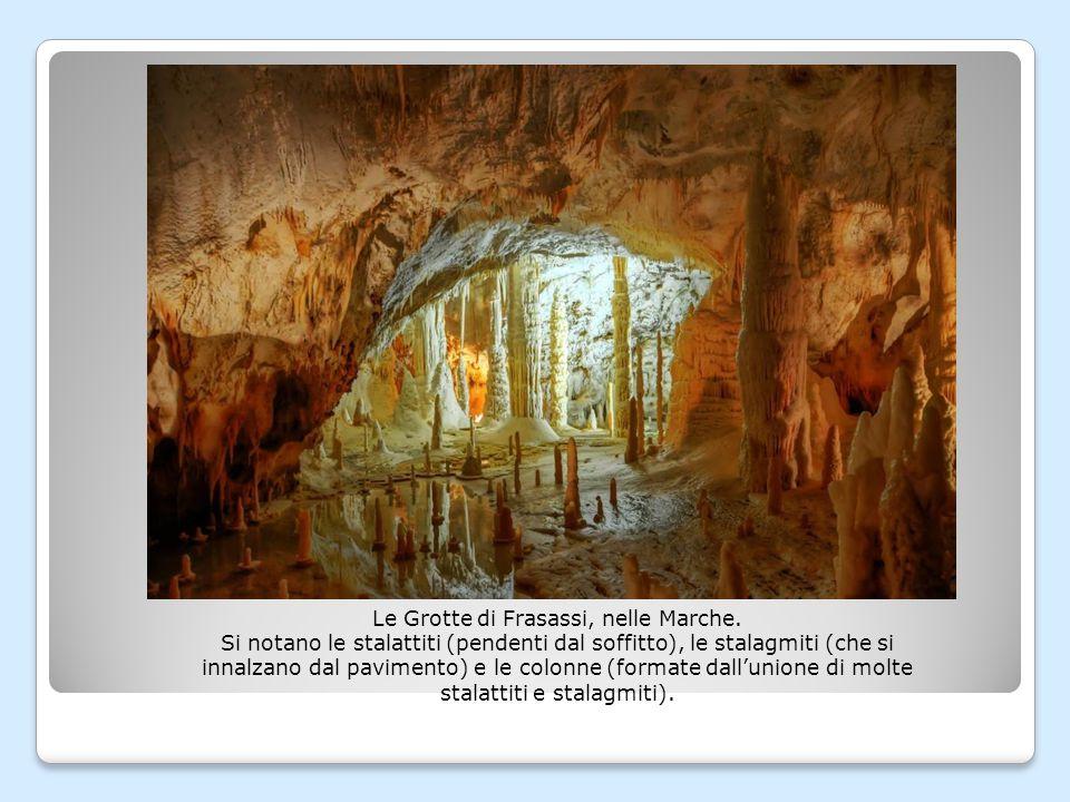 Le Grotte di Frasassi, nelle Marche.