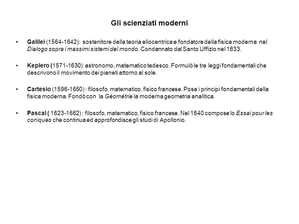 Gli scienziati moderni