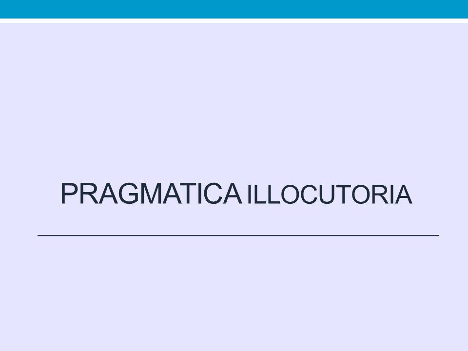 Pragmatica illocutoria