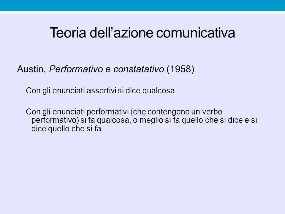Teoria dell'azione comunicativa