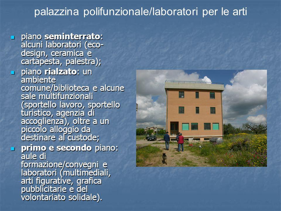 palazzina polifunzionale/laboratori per le arti