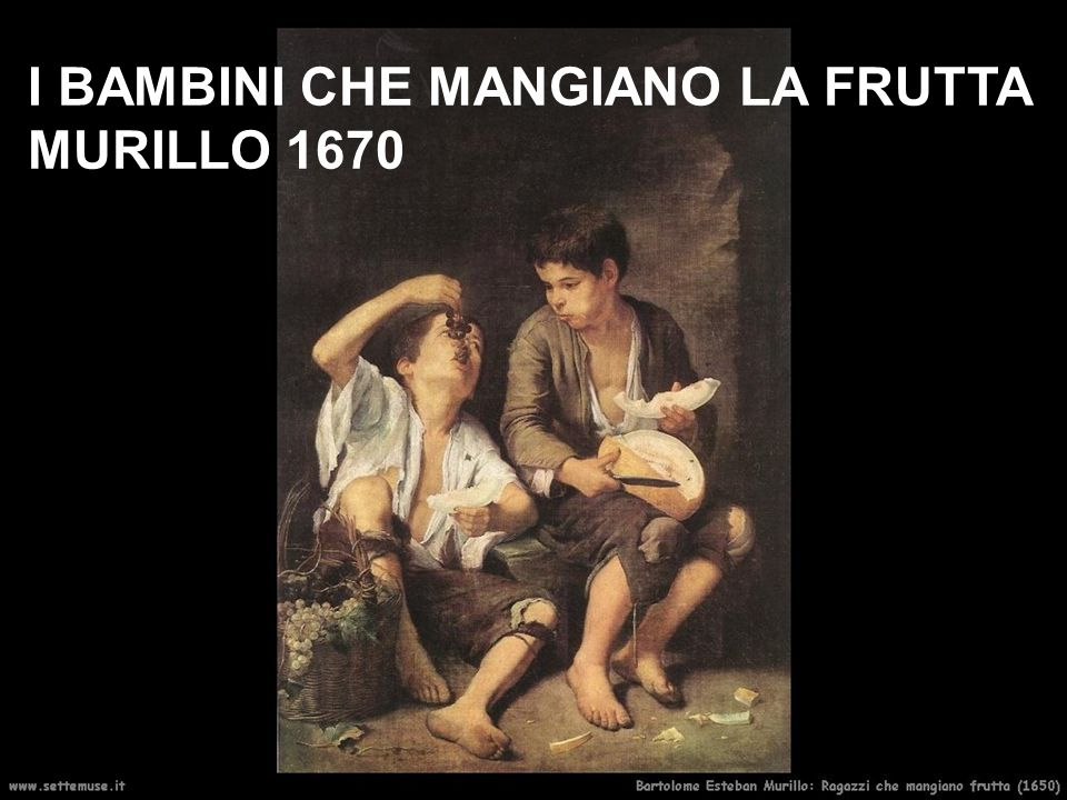 I BAMBINI CHE MANGIANO LA FRUTTA