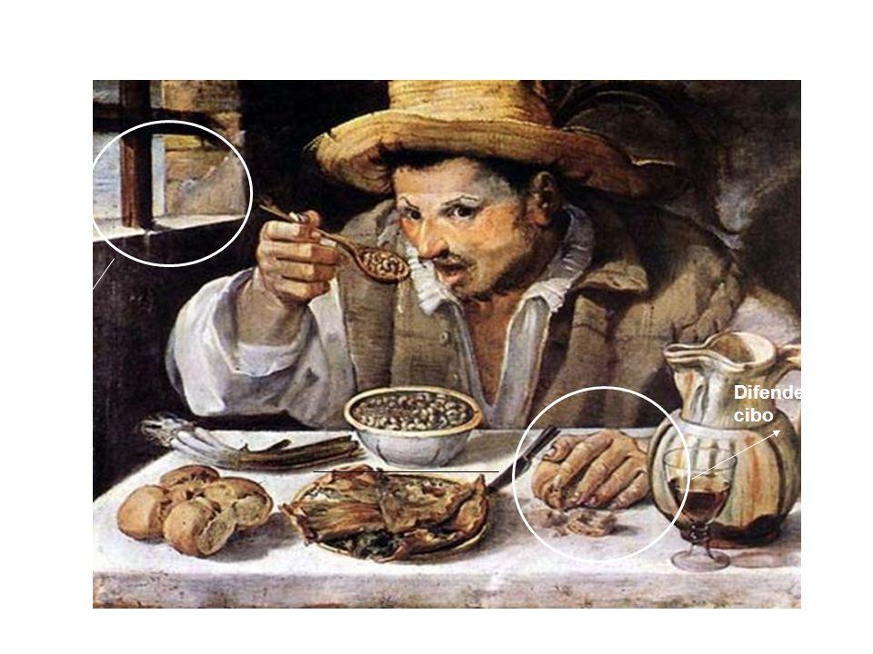 Il mangiatore di fagioli Carracci 1584