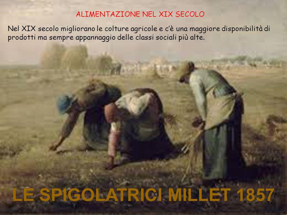 LE SPIGOLATRICI MILLET 1857