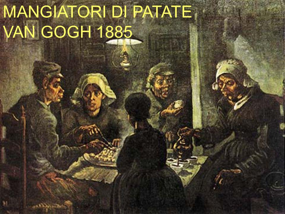 MANGIATORI DI PATATE VAN GOGH 1885