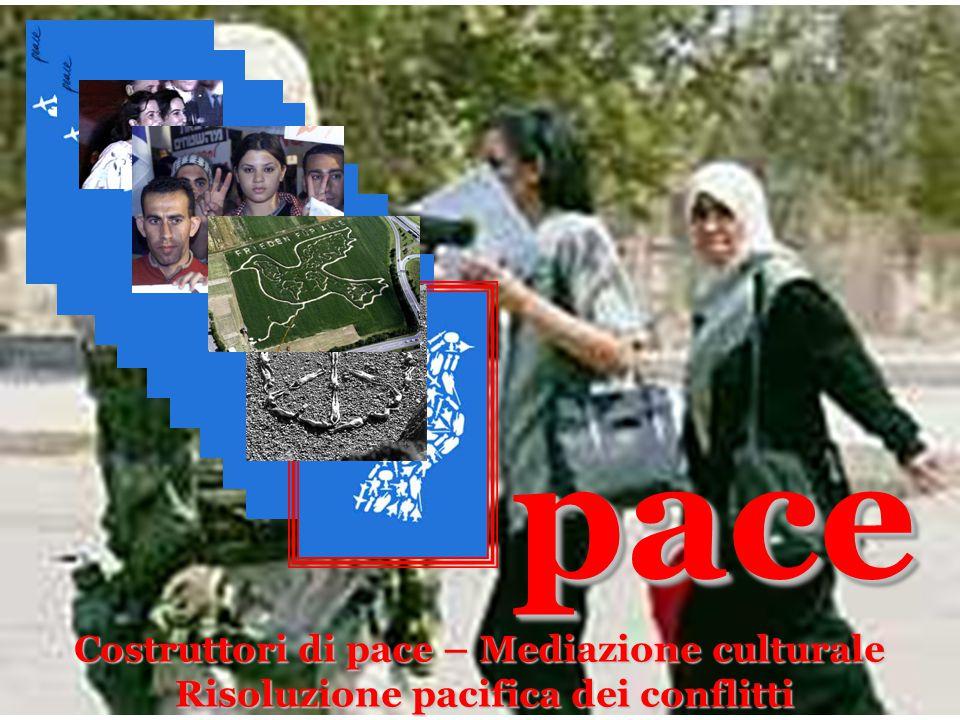 pace Costruttori di pace – Mediazione culturale
