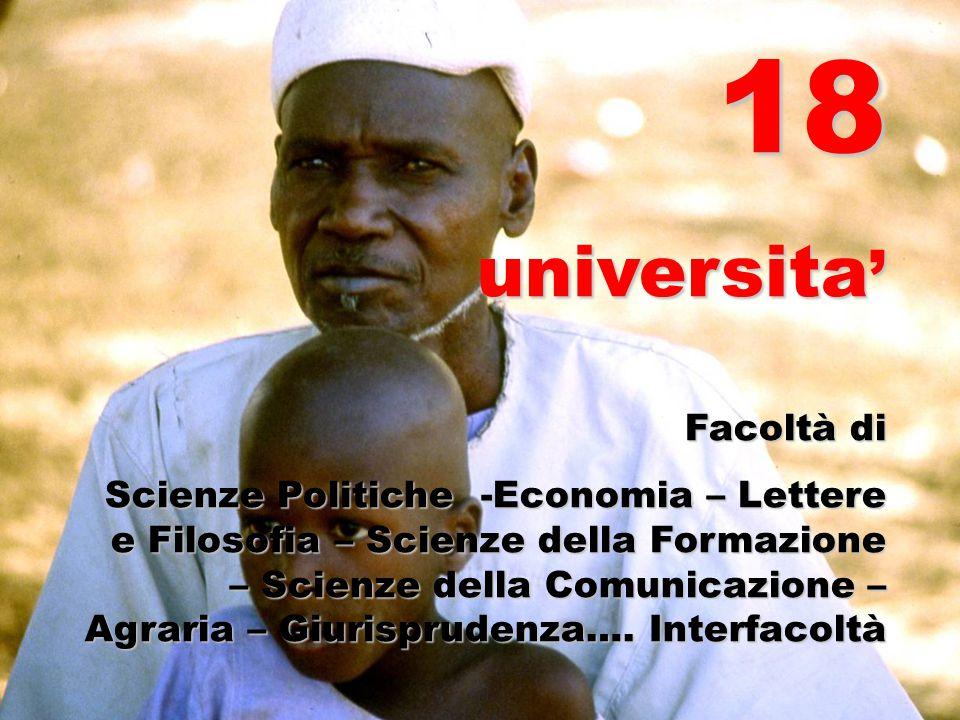 18 universita' Facoltà di