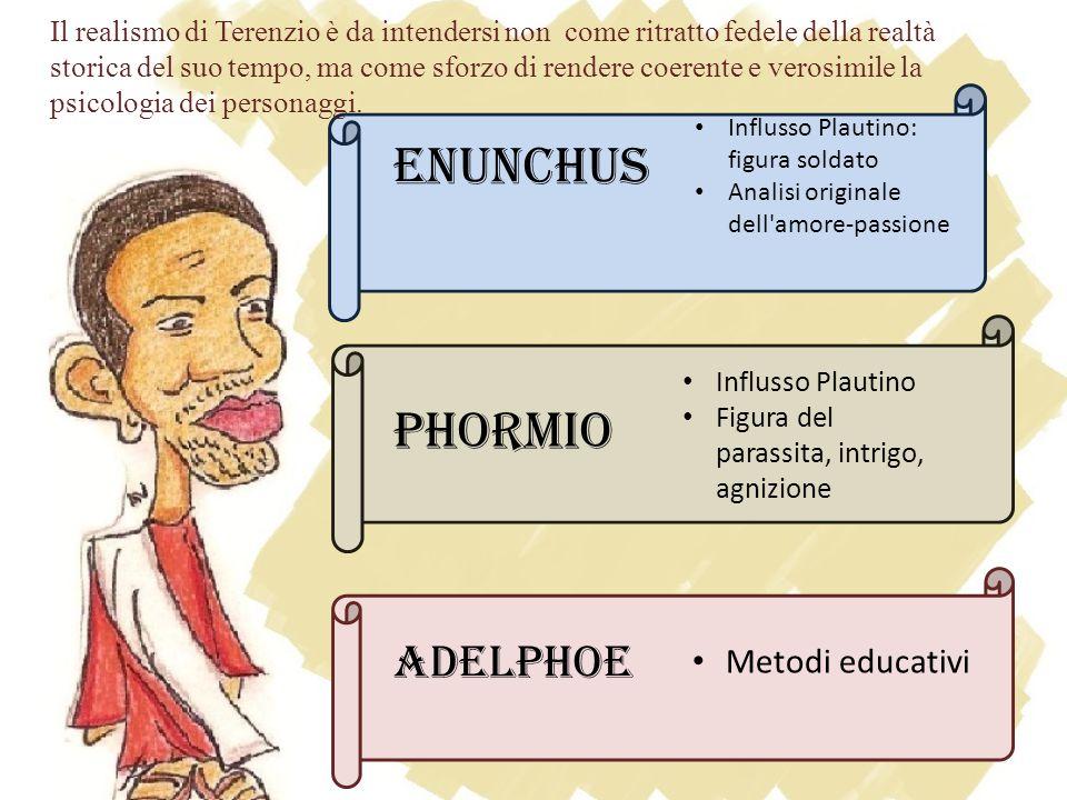 Enunchus Phormio Adelphoe Metodi educativi