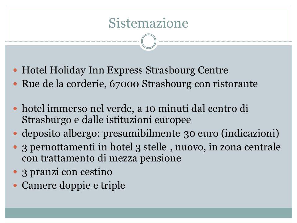 Sistemazione Hotel Holiday Inn Express Strasbourg Centre