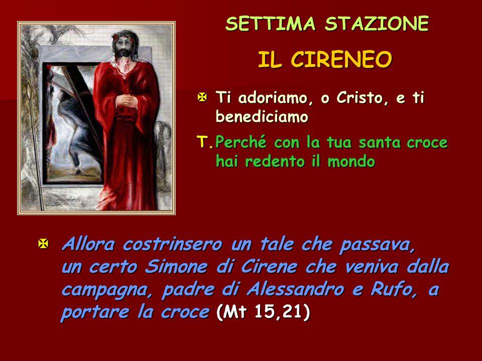 IL CIRENEO SETTIMA STAZIONE