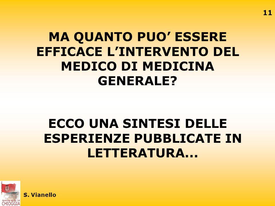 ECCO UNA SINTESI DELLE ESPERIENZE PUBBLICATE IN LETTERATURA...