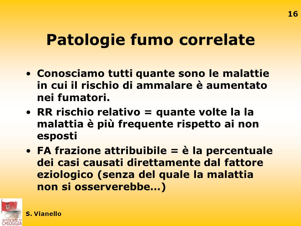Patologie fumo correlate