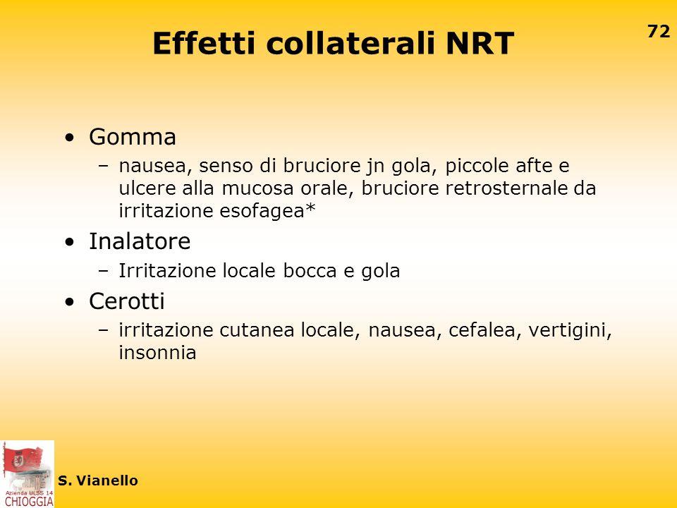 Effetti collaterali NRT