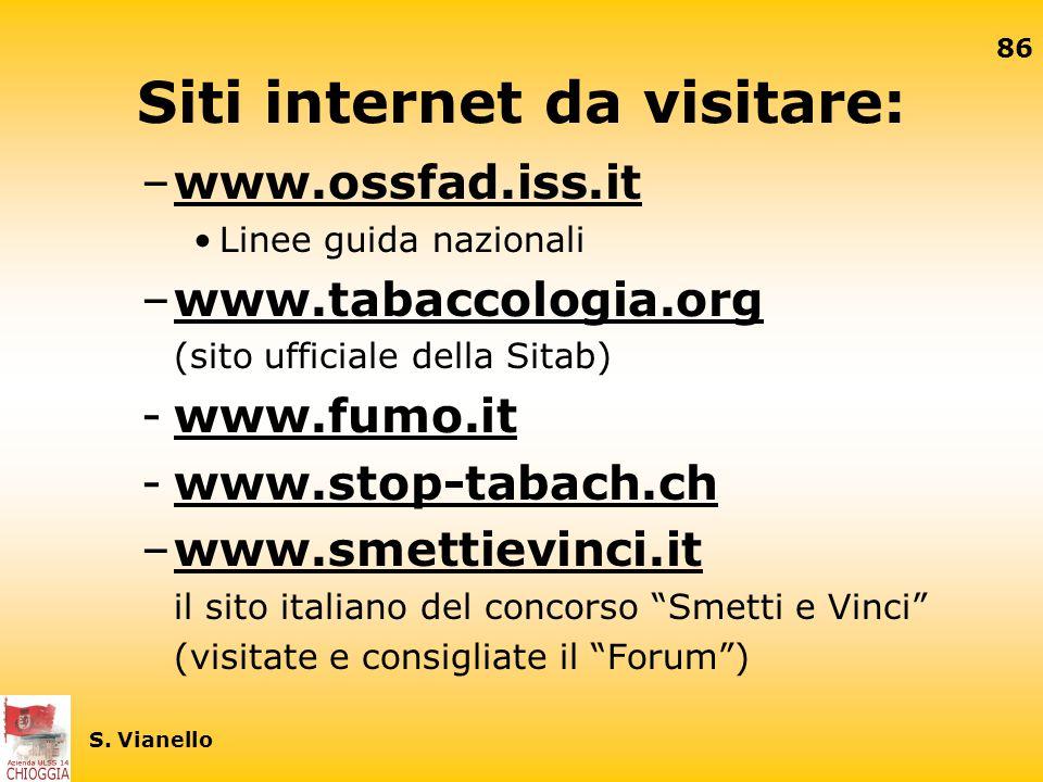 Siti internet da visitare: