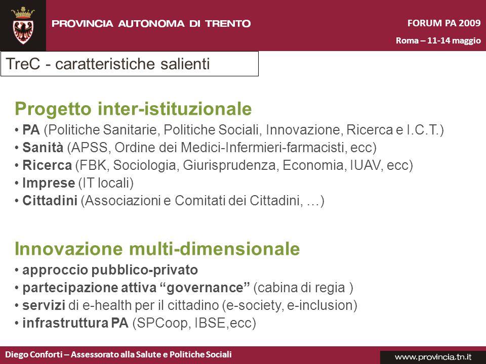 Progetto inter-istituzionale