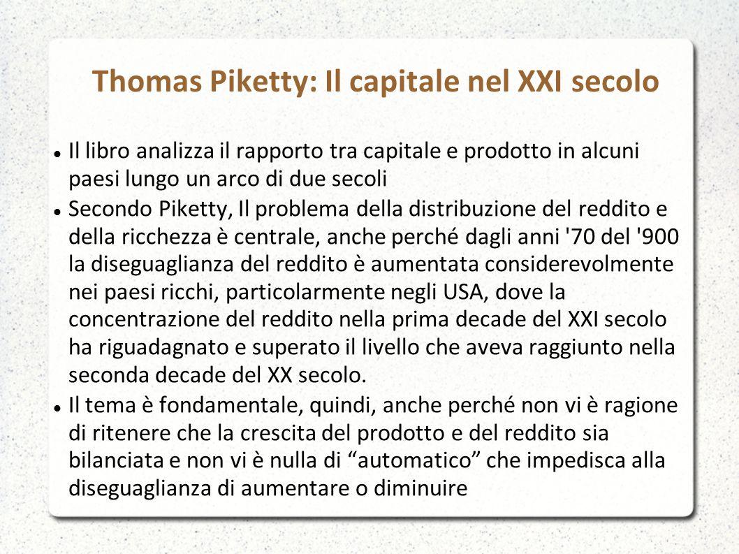 Thomas Piketty: Il capitale nel XXI secolo