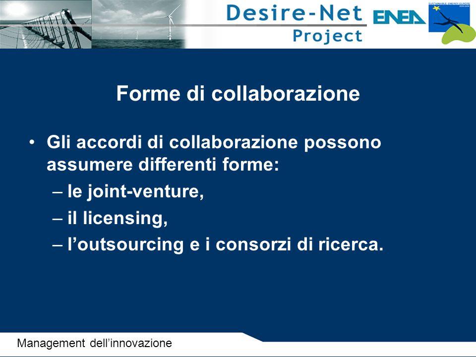 Forme di collaborazione