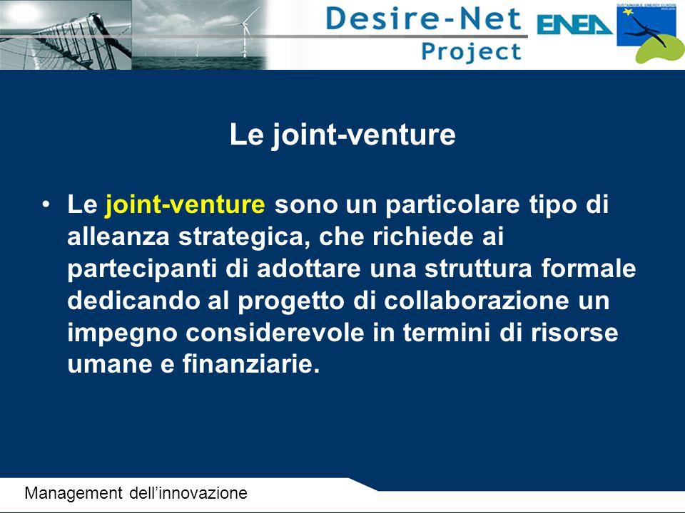 Le joint-venture