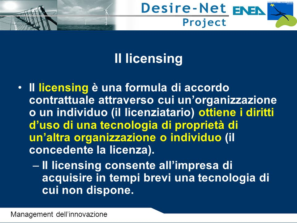 II licensing